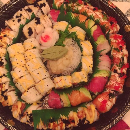 friday night sushi for carole knits
