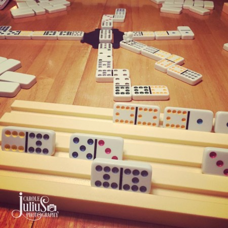 mexican train for carole knits